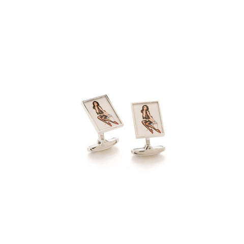 Paul Smith Accessories | Naked Lady Cufflinks -  Bloomsbury Store - 1