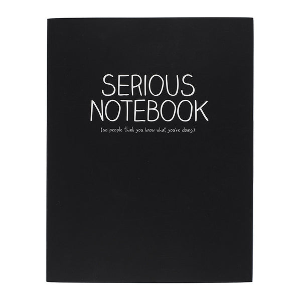 Happy Jackson Serious Large Jotter | Wild & Wolf -  Bloomsbury Store - 1