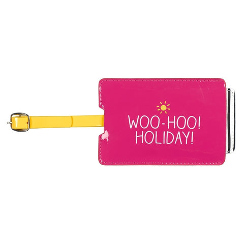 Happy Jackson Woo Hoo Luggage Tag | Wild & Wolf -  Bloomsbury Store - 1