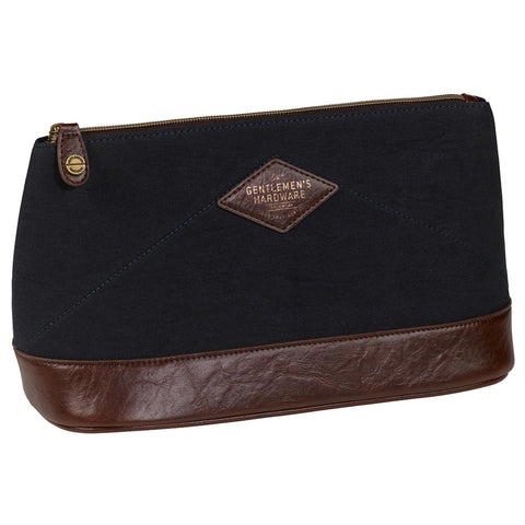 Gentlemen's Hardware Navy Original Wash Bag | Wild & Wolf -  Bloomsbury Store - 1