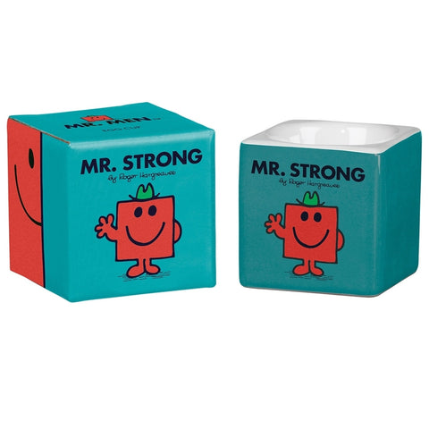 Mr Strong Egg Cup | Wild & Wolf -  Bloomsbury Store