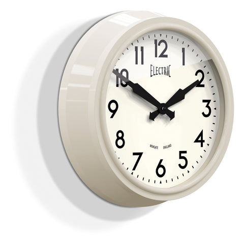 Newgate 50's Electric Clock | Sponge Cake Cream -  Bloomsbury Store