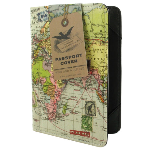 Travel Passport Cover | Wild and Wolf -  Bloomsbury Store