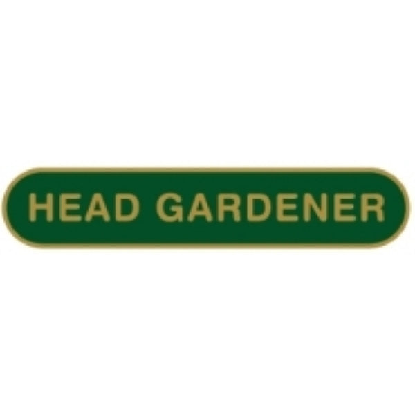 Head Gardener School Badge | Wild and Wolf -  Bloomsbury Store