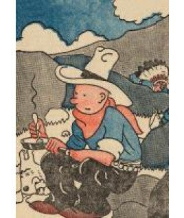 Tintin Document Sleeve | Petit America 1932 -  Bloomsbury Store