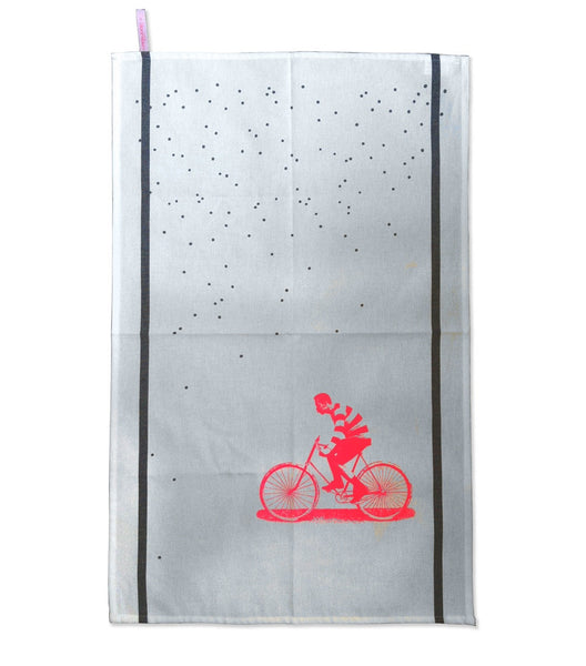 Bloomsbury x Le Cerise | Bicycle Tea Towel -  Bloomsbury Store - 1