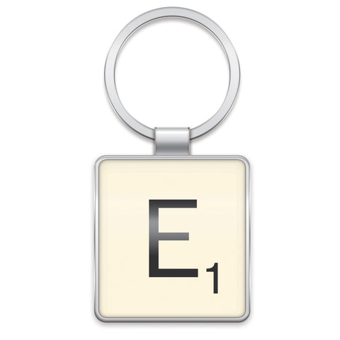 Scrabble Keyring E | Wild and Wolf -  Bloomsbury Store