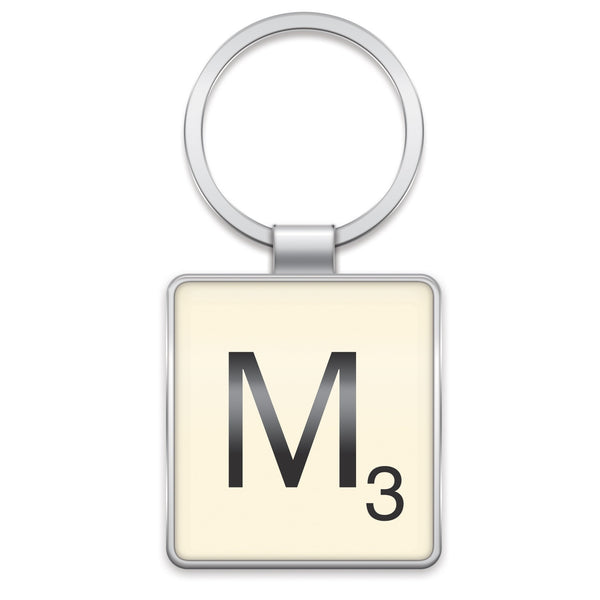 Scrabble Keyring M | Wild and Wolf -  Bloomsbury Store