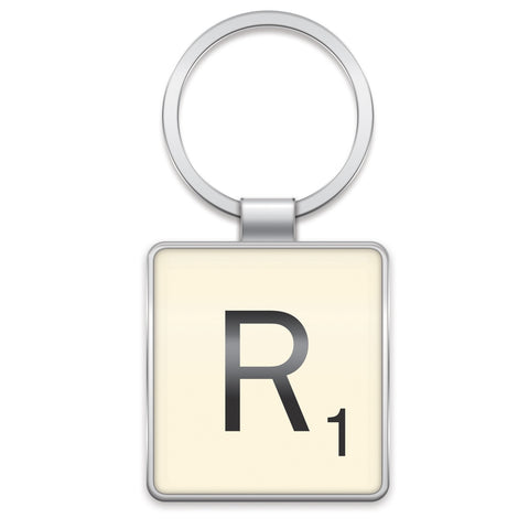 Scrabble Keyring R | Wild and Wolf -  Bloomsbury Store