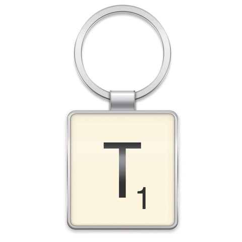 Scrabble Keyring T | Wild and Wolf -  Bloomsbury Store