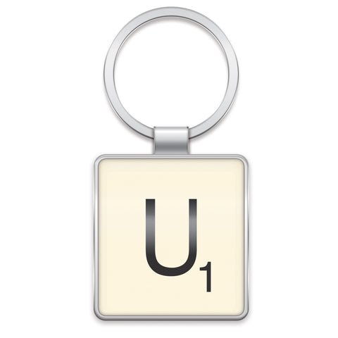 Scrabble Keyring U | Wild and Wolf -  Bloomsbury Store