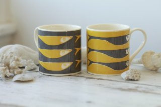 Yellow Fish Mug -  Bloomsbury Store