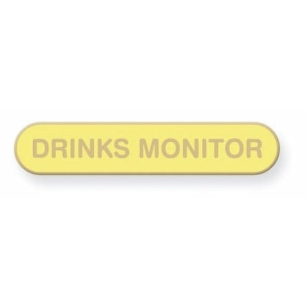 Drinks Monitor School Badge | Wild and Wolf -  Bloomsbury Store