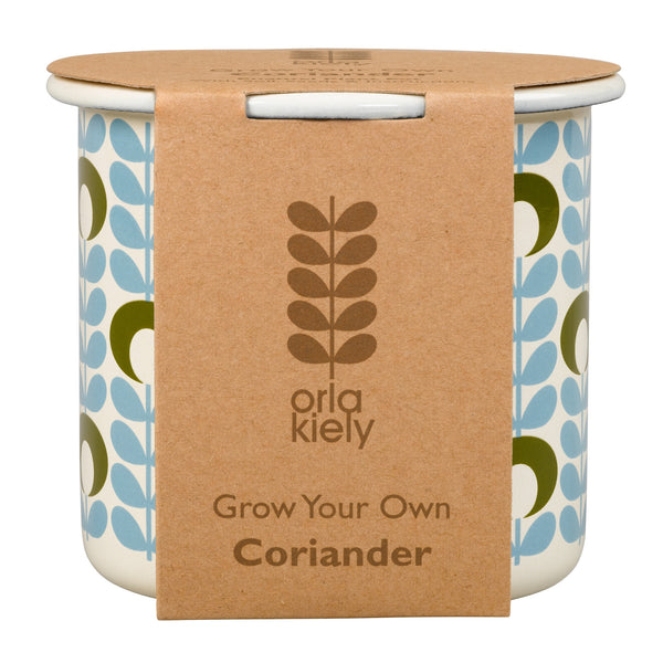 Orla Kiely Grow Your Own Coriander | Wild & Wolf -  Bloomsbury Store - 1