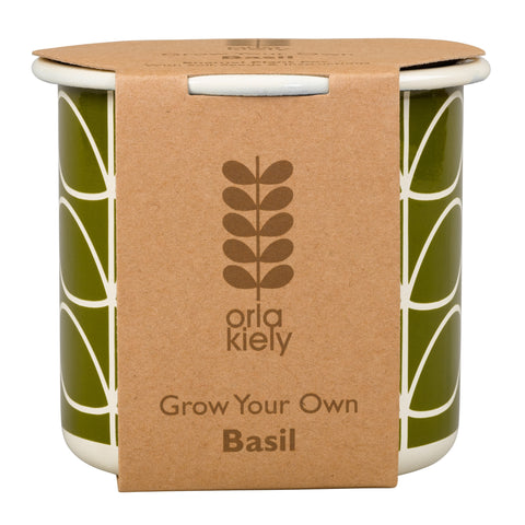 Orla Kiely Grow Your Own Basil | Wild & Wolf -  Bloomsbury Store - 1