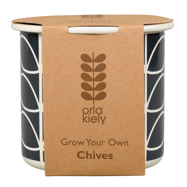 Orla Kiely Grow Your Own Chives | Wild & Wolf -  Bloomsbury Store - 1