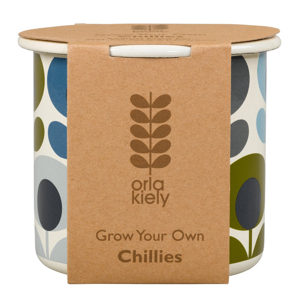 Orla Kiely Grow Your Own Chillies | Wild & Wolf -  Bloomsbury Store - 1
