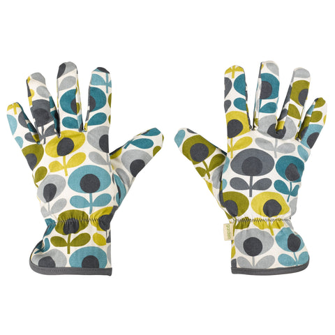 Orla Kiely Potting Gloves Multi Flower Oval Print | Wild & Wolf -  Bloomsbury Store - 1