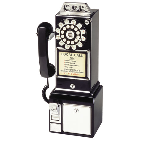 Black Diner Phone | Wild and Wolf -  Bloomsbury Store - 1