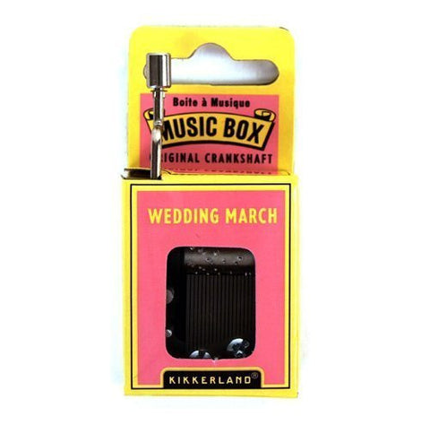 Hand Crank Music Box | Wedding March -  Bloomsbury Store - 1