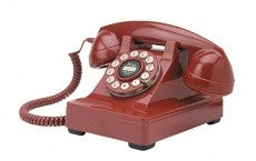Series 302 Red Classic Telephone | Wild and Wolf -  Bloomsbury Store