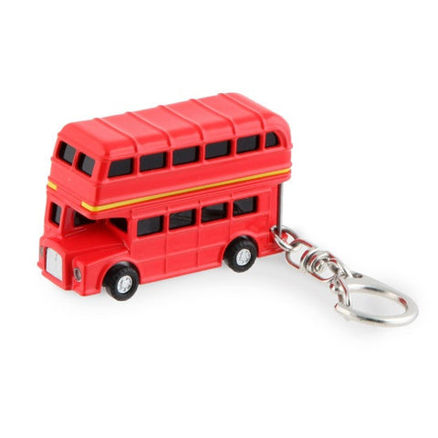 Double Decker Bus Keyring -  Bloomsbury Store - 1