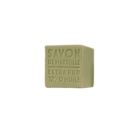 Cube of Marseille Soap | Olive -  Bloomsbury Store - 1