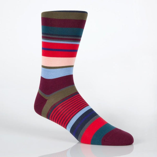 Paul Smith Accessories | Red Bright Stripe Socks -  Bloomsbury Store