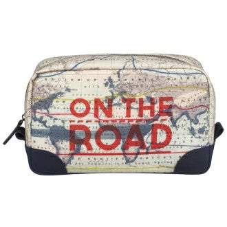 Cartography Wash Bag | Wild and Wolf  | Bloomsbury Store - 1
