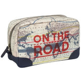 Cartography Wash Bag | Wild and Wolf  | Bloomsbury Store - 2