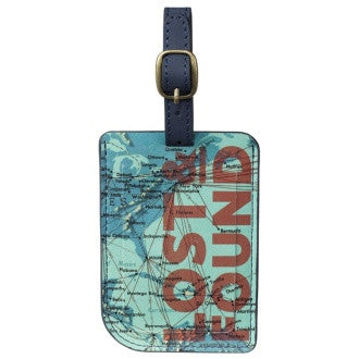 Cartography Luggage Tag | Wild and Wolf -  Bloomsbury Store - 1