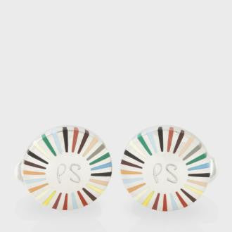Paul Smith Accessories | Signature Stripe Ray Cufflinks -  Bloomsbury Store