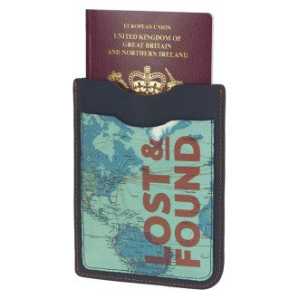 Cartography Passport Cover | Wild & Wolf -  Bloomsbury Store - 1
