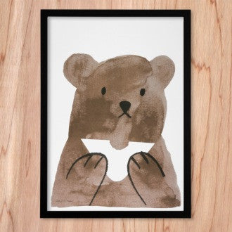 Butty Bear Print -  Bloomsbury Store