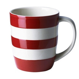 Cornishware Mug | Red -  Bloomsbury Store - 1