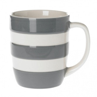 Cornishware Mug | Tin Grey -  Bloomsbury Store - 1