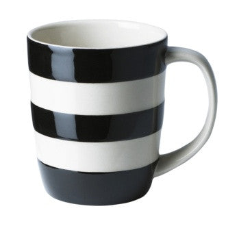 Cornishware Mug | Black -  Bloomsbury Store - 1