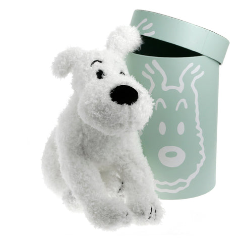 Tintin Soft Toy | Snowy Boxed 37cm Floppy -  Bloomsbury Store
