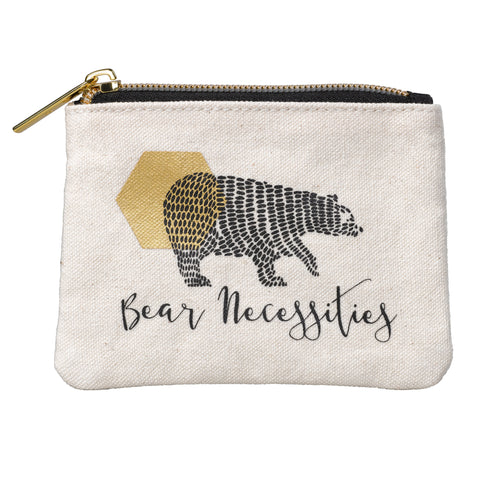 Folklore Small Pouch - Bear Necessities | Wild & Wolf  | Bloomsbury Store - 1
