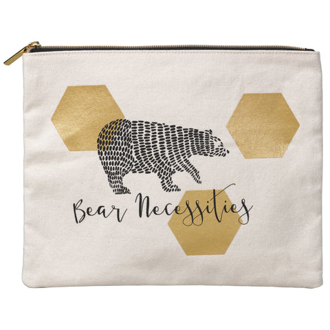 Folklore Large Pouch - Bear Necessities | Wild & Wolf  | Bloomsbury Store - 1