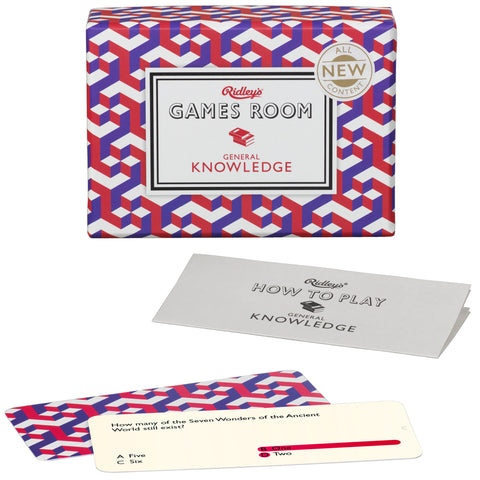 General Knowledge Quiz | Ridley's Game Room  | Bloomsbury Store - 1