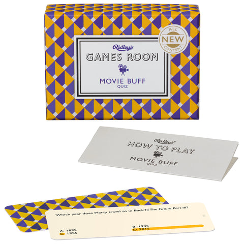 Movie Buff Quiz | Ridley's Game Room  | Bloomsbury Store - 1