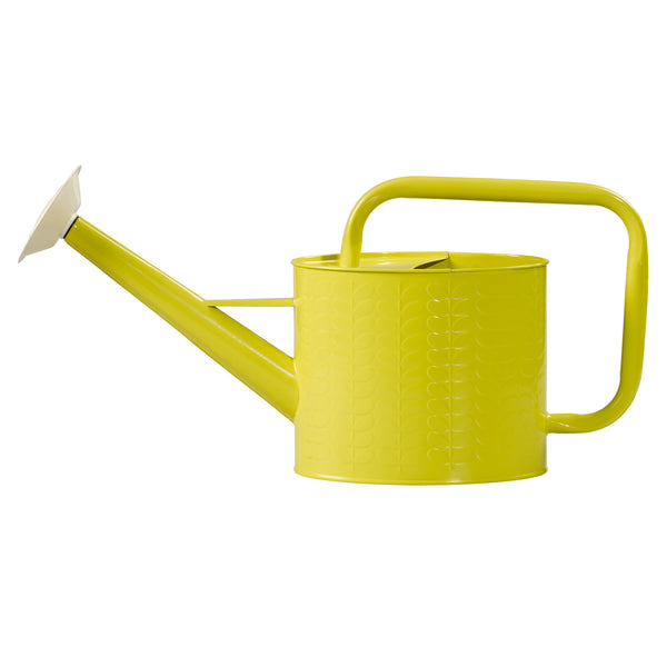 Orla Kiely Yellow Linear Stem Watering Can | Wild & Wolf  | Bloomsbury Store - 1