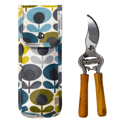 Orla Kiely Secateurs in Multi Flower Oval Pouch | Wild & Wolf -  Bloomsbury Store - 1