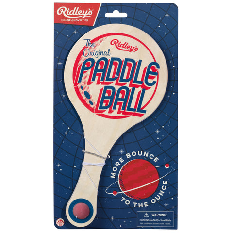 Ridley's Utopia Paddle Ball Game | Wild & Wolf  | Bloomsbury Store - 1