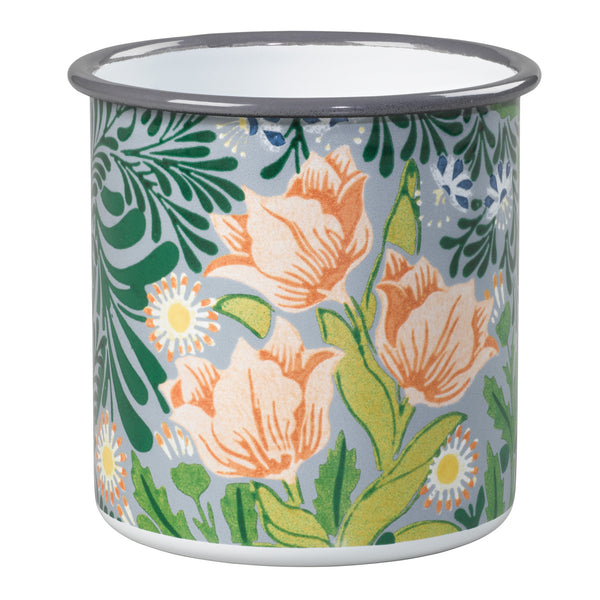 V&A William Morris Small Enamel Pot | Wild & Wolf  | Bloomsbury Store