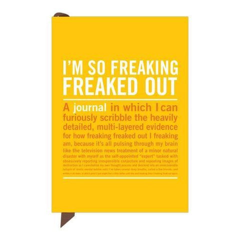 Mini Inner-Truth Journal - I'm So Freaking Freaked Out | Knock Knock  | Bloomsbury Store - 1