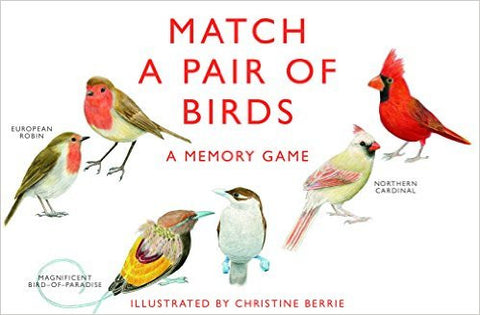 Match A Pair of Birds: A Memory Game  | Bloomsbury Store