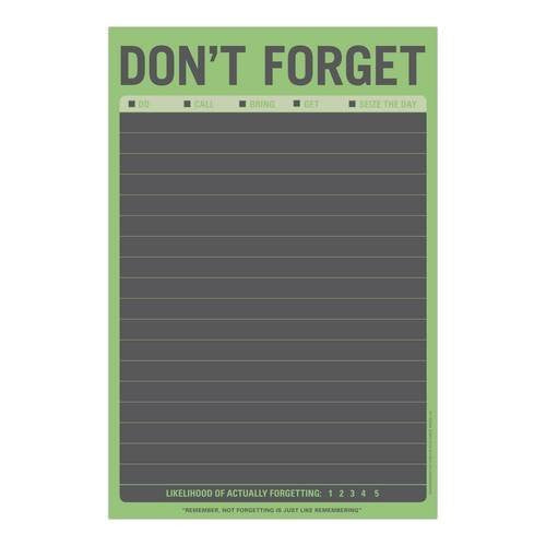 Don't Forget on & off the Wall Chalkboard | Knock Knock  | Bloomsbury Store