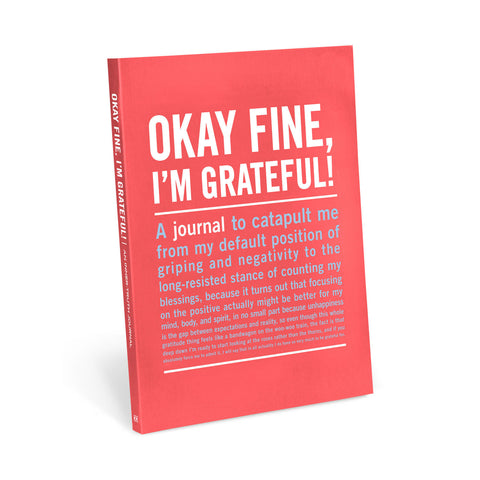 Inner-Truth Journal 'Ok Fine, I'm Grateful!' | Knock Knock -  Bloomsbury Store - 1